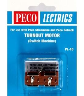 Motor PL-10 para accionamiento desvios PECO  H0 y N