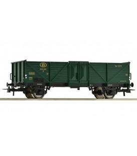 Vagón Gondola tipo (Omm34) SNCB. Ref: 66868.  ROCO. H0