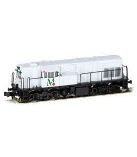 Locomotora diesel 308 Cementos TUDELA-VEGUIN  Blanca. Ref: ST60919B. STAR TRAIN. N