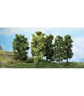 5 Árboles FRONDOSOS (18cm). Ref: 1990. HEKI. H0