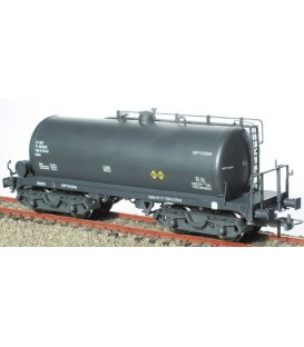 Cisterna de bogies RENFE gris Ref: 0714-E. K*TRAIN. H0