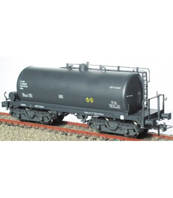 Cisterna de bogies RENFE gris Ref: 0714-F. K*TRAIN. H0