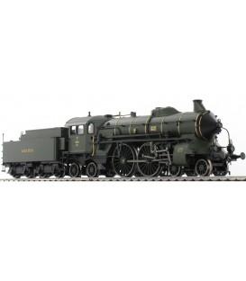 Locomotora con ténder Clase S2/6. Ref: 22049. TRIX. H0