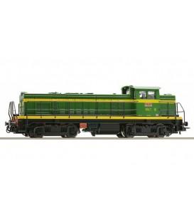 Locomotora diésel de la serie 10700, RENFE. Ref: 72829. ROCO. H0