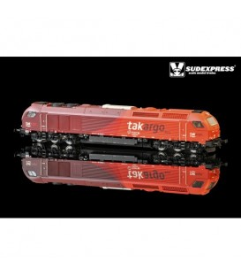 "Loco diesel electrica Euro 4000 SUDEXPRESS  ""Takargo"" Nº 6004"