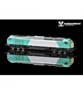 """Loco diesel electrica Euro 4000 SUDEXPRESS  """"RENFE"""" Nº 335.005"""
