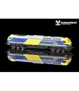 "Loco diesel electrica Euro 4000 SUDEXPRESS  ""CONTINENTAL RAIL"" Nº 335.016"
