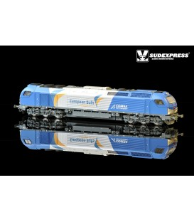 "Loco diesel electrica Euro 4000 SUDEXPRESS  ""COMSA"" Nº 335.002"