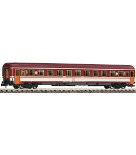 """Coche de 2ª clase """"Eurofima RENFE"""" (Decoración Estrella)  Ref: 814476. FLEISCHMANN. N"""