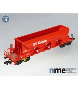 Vagón Tolva bogies Cargo (DB). Ref: NME202500. Escala. N