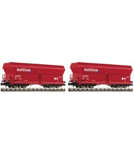 Set de 2 vagones tipo Falns 183, DB AG,  FLEISCHMANN. N