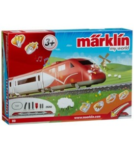 "Set de inicio ""Thalys"". MY WORLD. Ref: 29202. MARKLIN. H0"