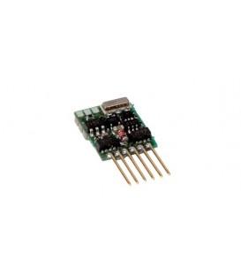 Decoder LENZ Silver mini+ para Locomotora escala N con pins NEM651