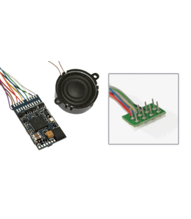 "LokSound V4.0 ""Universal sound for reprogramming"", with 8-pin NEM652 interface,"