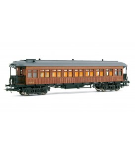 Coche Costa 2ª clase, RENFE BB2470. Ref: E5091. ELECTROTREN. H0
