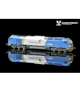 "Loco diesel electrica Euro 4000 SUDEXPRESS  ""COMSA"" Nº 335.001"