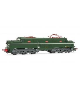 Locomotora eléctrica RENFE 277 (verde y plata)  Ref: E2759. ELECTROTREN. H0