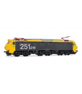 Locomotora eléctrica RENFE 251.019. (TAXI)  Ref: E2592. ELECTROTREN. H0