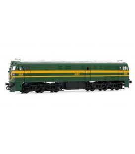 Locomotora diésel RENFE 2109 Ref: E3117. ELECTROTREN. H0
