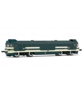 """Locomotora diesel 354, de RENFE, matrícula 354 006-9 """"Virgen de Aránzazu"""" Ref: 2166. ARNOLD. N"""