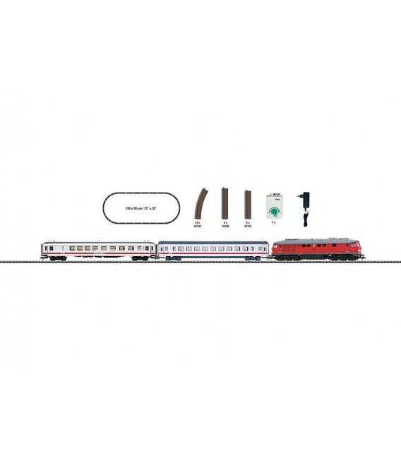 """Set de iniciación """"ICE"""" con locomotora  BR234. Ref: 21524. TRIX. H0"""