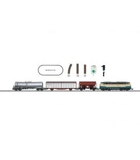 Set de iniciación Mercancias con locomotora  BR216. Ref: 21526. TRIX. H0