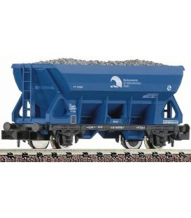 Vagón Tolva de color azul, RENFE (Infrastructuras) Ref: 850903. FLEISCHMANN. N