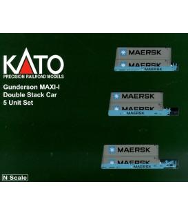 Set de 5 Plataformas Gunderson MAXI-IRef: 106-6157. KATO. N