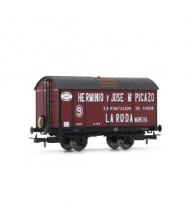 """Vagón Foudre Norte """"HERMINIO Y JOSE Mª PICAZO"""". ELECTROTREN HO Ref. E19018"""