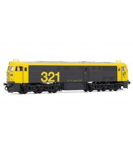 Locomotora diésel RENFE 321.025 Ref: E3119. ELECTROTREN. H0