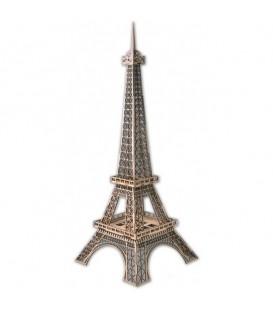 Torre Eiffel en Madera troquelada al laser