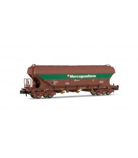 Vagón tolva tipo Uas MERCAGUADIANA, RENFE. Ref: HN6201. ARNOLD. N