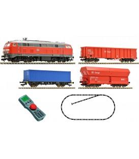 Set Iniciación Digital con Loc. Diesel BR218, Ref: 631403. FLEISCHMANN. H0