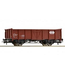 Vagón de mercancías abierto con rollos de alambre, SBB. Ref: 67501. ROCO. H0