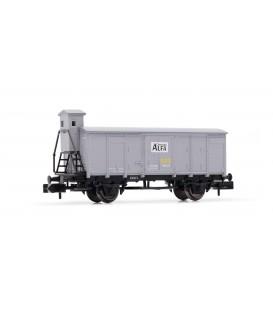 "Vagón cerrado ""Cementos ALFA"" con Garita, RENFE. Ref: HN6353. ARNOLD. N"
