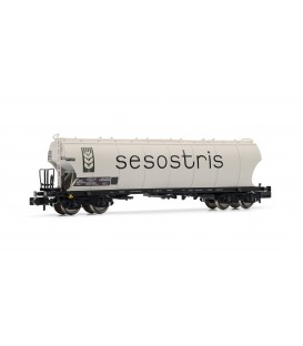 "Vagon tolva de cereales tipo Uapps ""SESOSTRIS"". Ref: HN6351. ARNOLD. N"