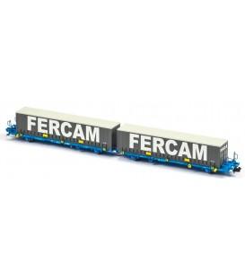 Plataforma Portacontenedores Mega Combi Comsa . Ref: N33145. MFTRAIN. N