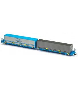 Plataforma Portacontenedores Mega Combi Comsa . Ref: N33146. MFTRAIN. N
