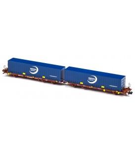 Plataforma Portacontenedores Mega Combi Transfesa . Ref: N33148. MFTRAIN. N