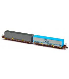 Plataforma Portacontenedores Mega Combi Transfesa . Ref: N33150. MFTRAIN. N