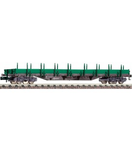 Vagón Telero RENFE Tipo Res, Ref: 828820. FLEISCHMANN. N