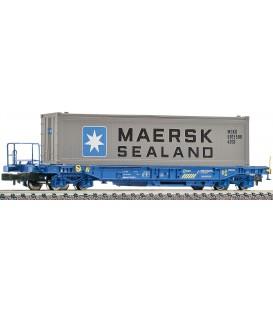 Vagón plataforma RENFE.  Ref: 845364. FLEISCHMANN. N