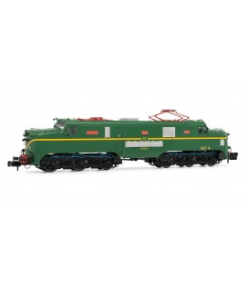 Locomotora eléctrica RENFE 277.014 (verde y amarillo). Ref: HN2342. ARNOLD. N