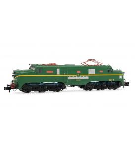 Locomotora eléctrica RENFE 277.014 (verde y amarillo). Ref: HN2342S. ARNOLD. N