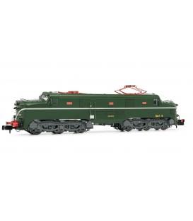 Locomotora eléctrica RENFE 277.048 (verde y plata). Ref: HN2343. ARNOLD. N