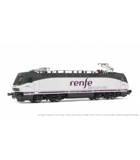 Locomotora eléctrica RENFE 252.017. Renfe Mercancías
