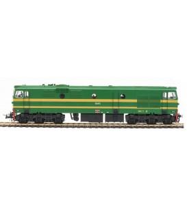 Locomotora matrícula 1912. Época III. Verde claro. Ref 81510. MABAR. H0