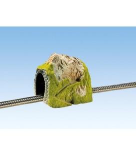 Tunel 1 carril, 25 x 19 cm, ESCALA H0. NOCH. Ref: 02120
