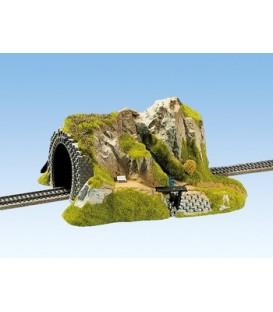 Tunel, recto, 1 carril, 34 x 27 cm. Escala H0. NOCH. Ref 02200