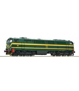 Locomotora diésel RENFE 333.001. Ref: 73690. ROCO. H0